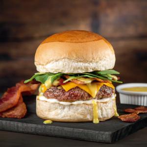 Hambúrguer Bacon Honey Mustard
