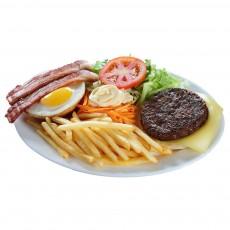 Hambúrguer Aberto
