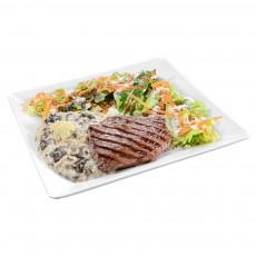 Risoto + Salada + Steak