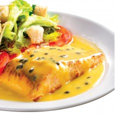 Risoto + Salada + Salmão