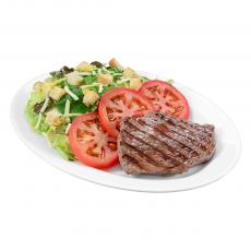 Salada + Steak